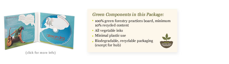 green components in the Oasis soft spot package