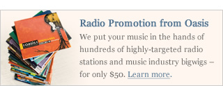 Radio Promotion from Oasis