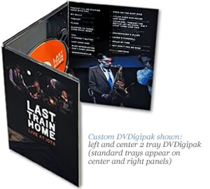 Multi-Disc DVDigipak