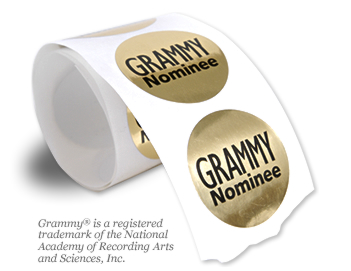 Grammy Nominee Stickers