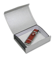 Silver Gift Box - Domed Top