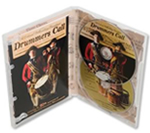 Multidisc DVD cases and interior inserts