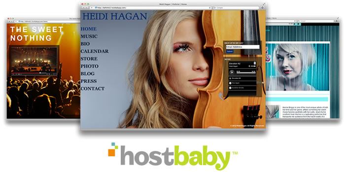 Design and host your own website FREE with Hostbaby
